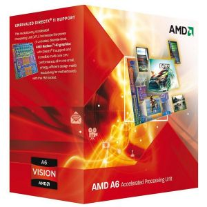 AMD A6 X2 7400K - 3.50 GHz, No, 65 W, FM2+, Box