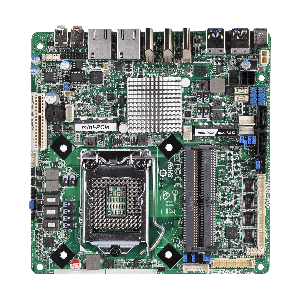 ASRock IMB-190/ Q170, 3x HDMI, DC-IN, Thin Mini-ITX