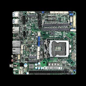 ASRock IMB-1222/ Q470E, 2x LAN, 4x COM, Mini-ITX