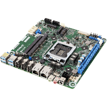 ASRock IMB-1215/ 2x LAN, 4x Com, Mini-ITX