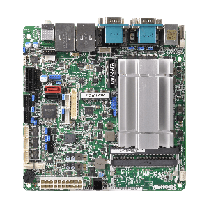 ASRock IMB-154B/ N3160, 6x RS232, DC, Mini-ITX